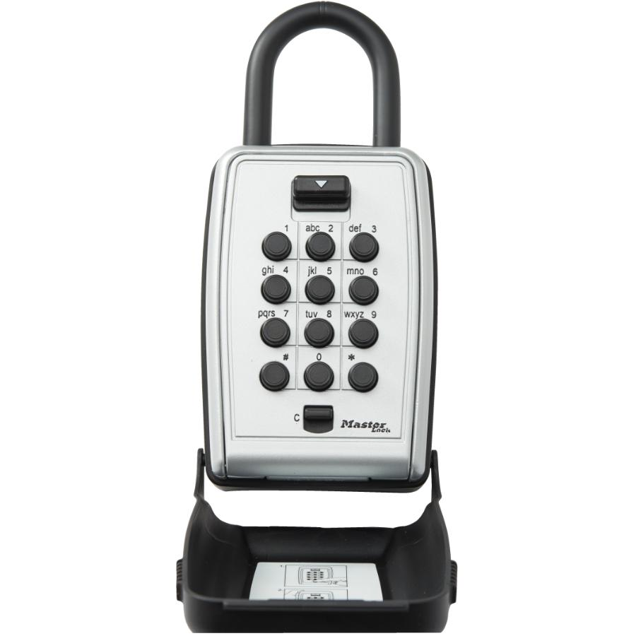 master lock push button combination key safe instructions