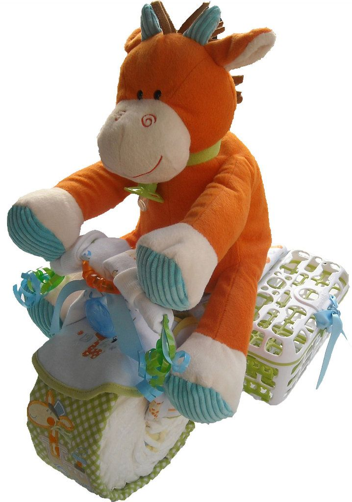 motorcycle diaper cake instructions