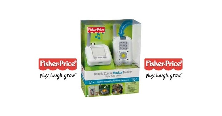 fisher price baby monitor instructions