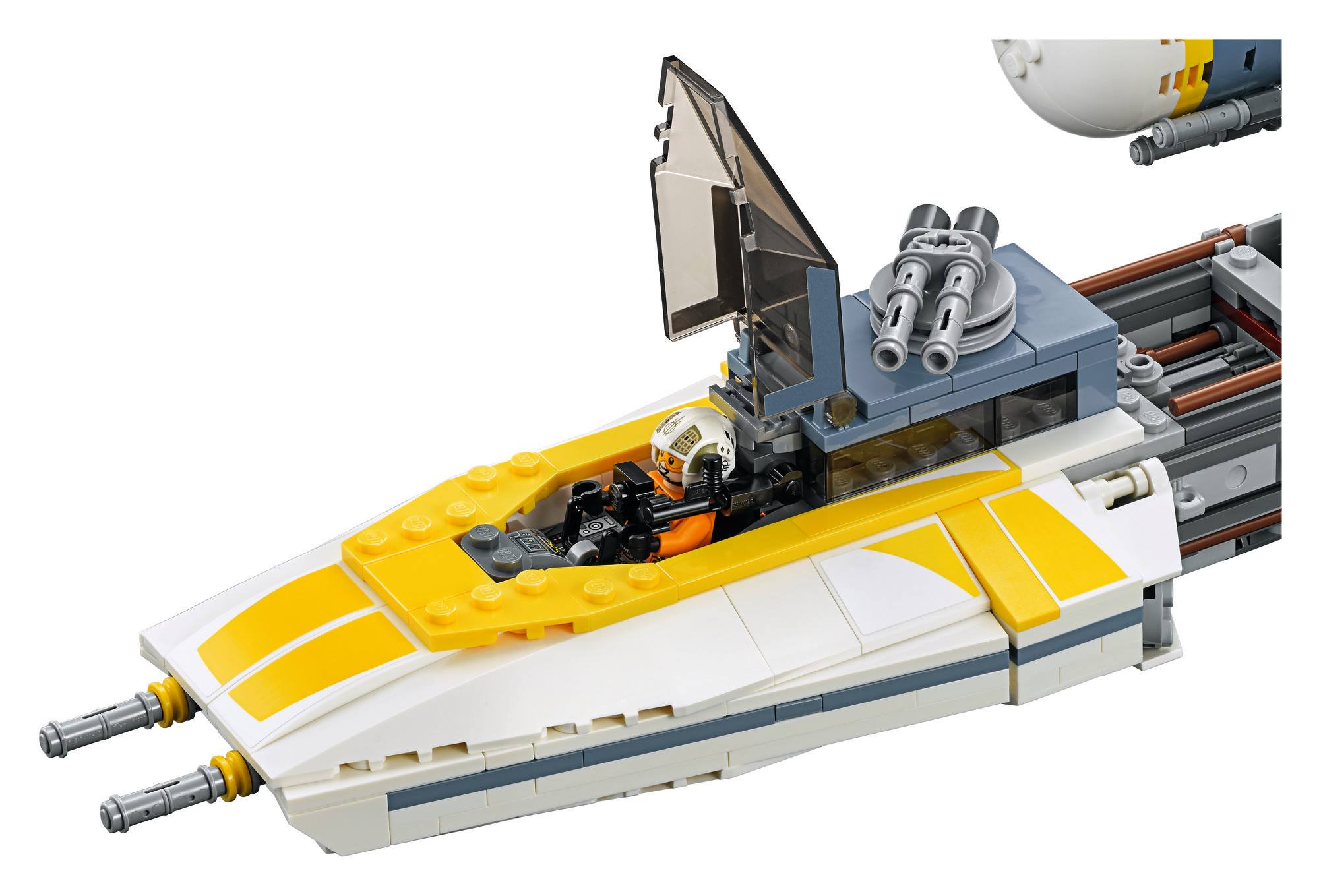 lego star wars y wing instructions