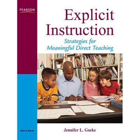 direct and explicit instruction