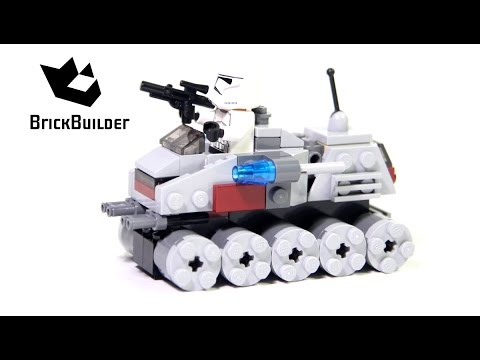 lego star wars clone turbo tank 8098 instructions