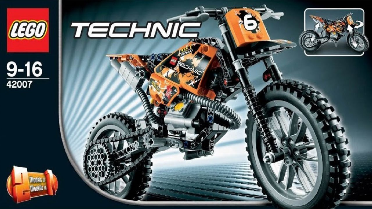 lego technic dirt bike instructions