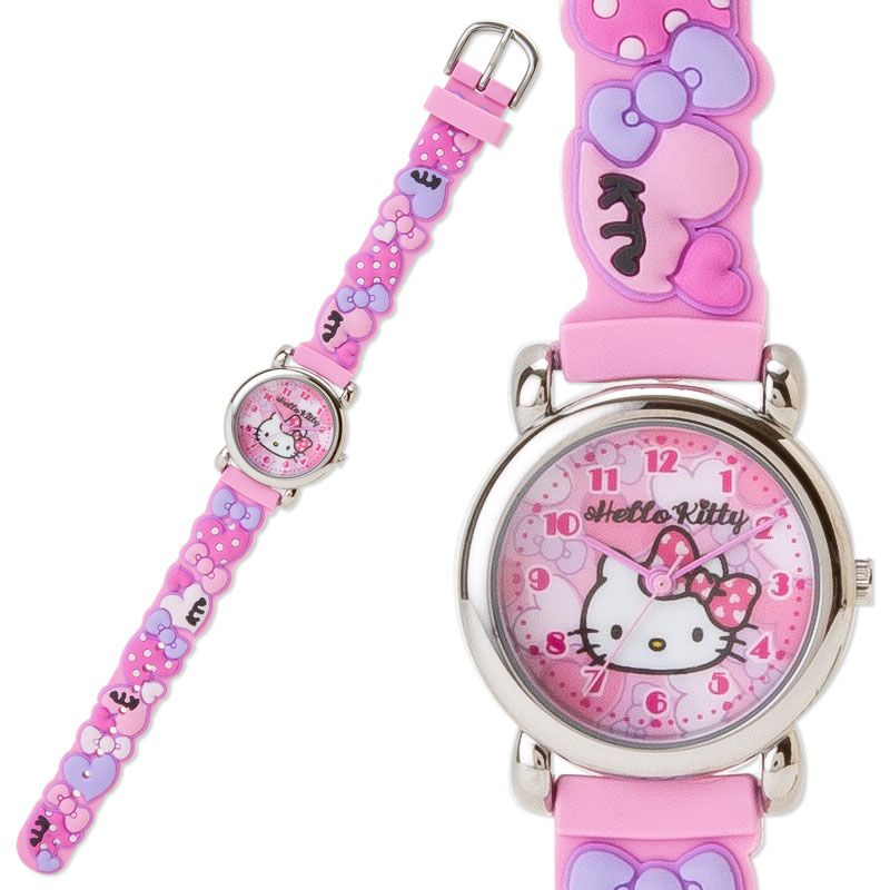 sanrio hello kitty watch instructions